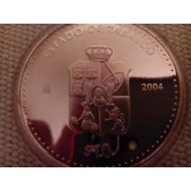 Moneda Escasa De Estados Tabasco Onza Plata Pura Seriada