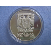 Medalla Unam 50 Gr Plata Pura 0.999