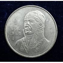 Moneda 1 Peso De Plata Mexicano 1950