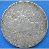 Moneda 1 Peso Caballito 1911 Excelente Plata Original