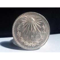 Moneda 1 Peso Resplandor Plata Ley 0.720