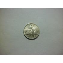 Guatemala 1/4 De Real Fecha 1898 Plata Ley 0.900 0.8g 11mm