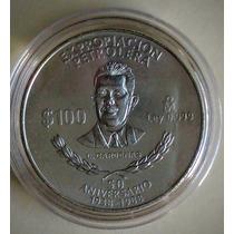 Moneda Plata Lazaro Cardenas 1 Onza !!