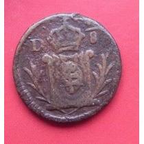 Moneda México Nueva Vizcaya Año 1822 1/8 De Real Cobre