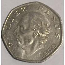 20 Monedas Antiguas Hidalgo $10 Pesos Heptagonal Niquel Lote