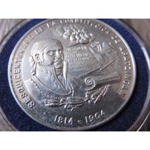 Moneda Medalla Sesquicentenario Constitucion De Apatzingan