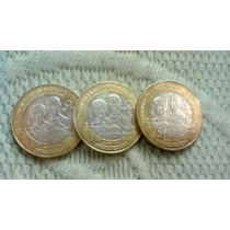 Moneda Centenario Gesta Heroica Veracruz 1914-2014 20 Pesos.
