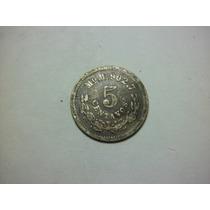 Republica Mexicana 5 Centavos Fecha 1889 Ceca Mo