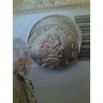 Moneda De 5 Pesos Con Error De Acuñación Excelente Muy Rara!