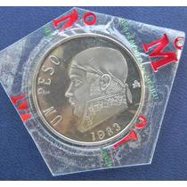 Moneda Mexico $1 Peso 1983 Calidad Proof Menos De 100pcs