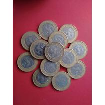 Monedas Coleccion 20 Veinte Pesos Fuego Nuevo