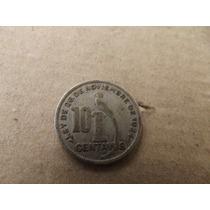 Moneda De Guatemala 10 Centavos 1936