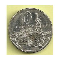Moneda Cuba 10 Centavos (2000) Castillo De La Fuerza