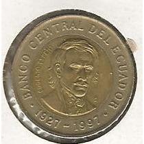 Ecuador 1000 Sucres 1997 Bimetalica