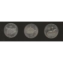 Colección 3 Monedas De Cuba
