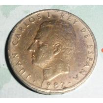 Lote 110 Moneda Espana 100 Pesetas 1982 Rey Carlosi