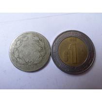 Moneda Antigua 1 Centavo 1877 Venezuela