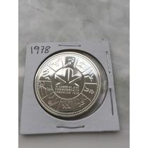 1978 Conmemorativa Moneda De Plata De Canada.