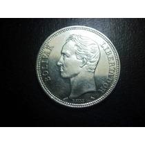 Venezuela 2 Bolivares 1960 Plata Ley 0.835 25mm