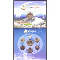Colección De 7 Monedas Del Mundial De Corea-japon 2002