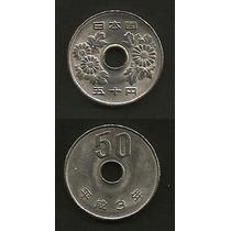 Grr-moneda De Japón 50 Yenes 1991 - Emperador Akihito