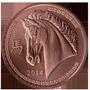 Nueva !! Medalla Cobre Calendario Chino Caballo 1 Onza !!!