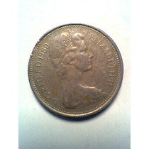 5 New Pence Año 1969 Moneda Inglesa