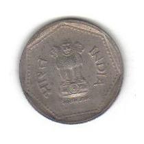 1 Rupia 1986 Moneda República De La India - Vbf