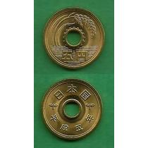 Grr-moneda De Japón 5 Yen 1993 - Emperador Akihito