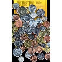 Colección De 50 Monedas Diferentes De 50 Países Diferentes