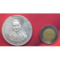 Medalla México Tlaxcala Bodas Plata Luis Monive Escobar 1969
