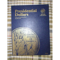 Album Monedas De Presidentes 1 Dolar Whitman