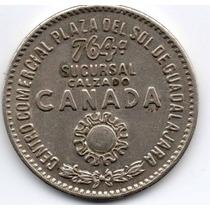 Antigua Medalla Inag. Zap. Canada Plaza D´sol Guadalajara