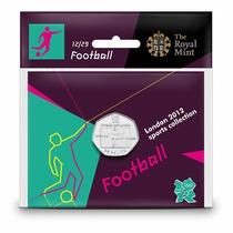 Futbol Olimpiada Londres 2012 50 Pence (mexico Medalla Oro)