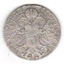 1 Thaler 1780 Plata Moneda Austria Archiduquesa Maria Teresa