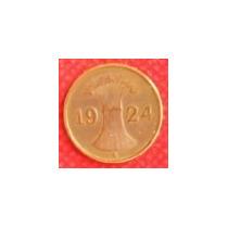 1 Penique Imperial 1924 Moneda Alemania Paca De Trigo - Vbf
