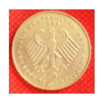 2 Marcos 1985 Alemania Theodor Heuss Primer Presidente - Hm4