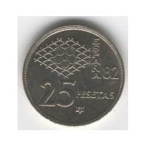 Super Ganga, 2 Moneda De Futbol Del Mundial España 82