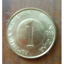 Uno Y Dos Tolar 1999 República De Slovenia. 200 Pesos C/u