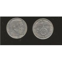 Moneda De 5 Marcos Alemania Nazi