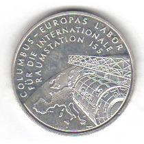 10 Euro 1994 Plata Alemania Moneda Estación Espacial - Vbf