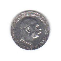 1 Corona 1915 Plata Austria Emperador Francisco José - Hm4