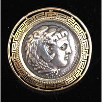 Tetradracma Alejandro Magno 336-323 A.c. En Pendiente De Oro