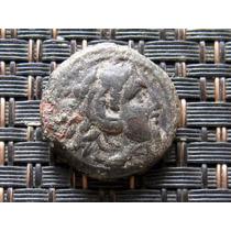 Moneda Alejandro Magno De Macedonia Bronze 336-323 A E.c