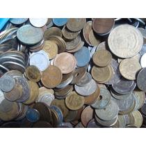 Lote De 50 Monedas Extranjeras Todas Diferentes