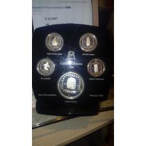 Coleccion Monedas De Plata Ley 0.999 Cultura Olmeca