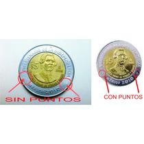 Moneda De 5 Pesos Sin Puntos De Francisco Primo De Verdad