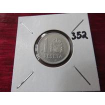 #352 Moneda Del Mundo 1 Peseta España 1988