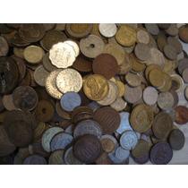 Lote De 100 Monedas Extranjeras Todas Diferentes