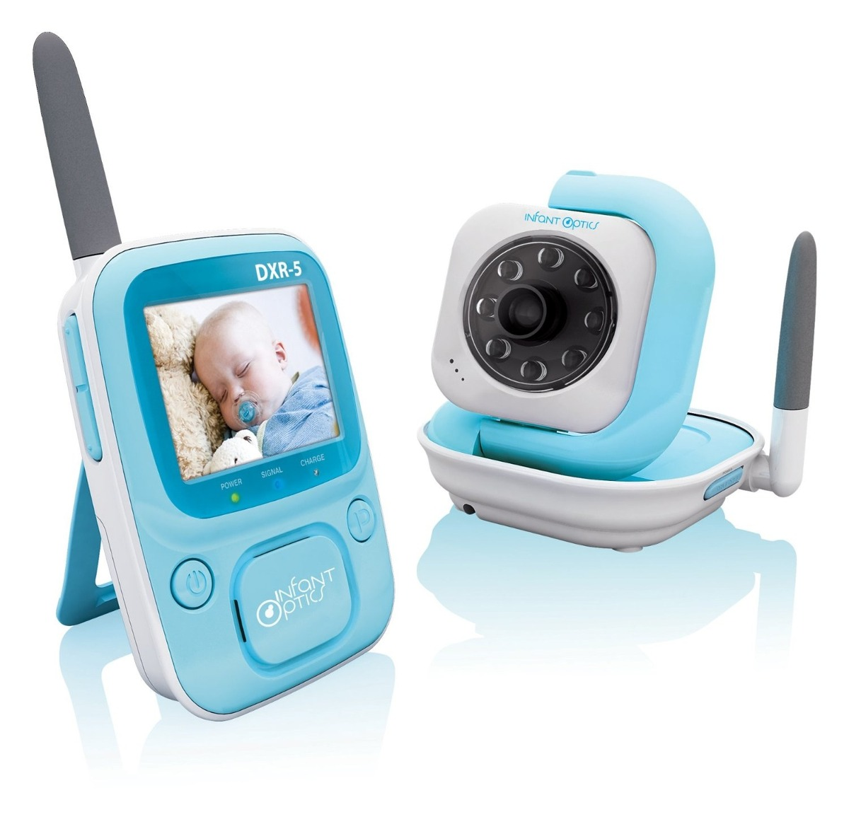 monitor para bebes camara infant optics dxr 5 2 4 ghz 2 en mercadolibre. Black Bedroom Furniture Sets. Home Design Ideas